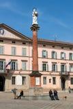 Πλατεία ΧΧ Settembre σε Castel SAN Pietro Terme Στοκ Εικόνες
