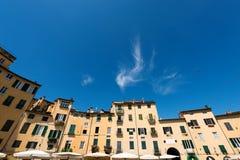Πλατεία Anfiteatro - Lucca Τοσκάνη Ιταλία Στοκ Εικόνα