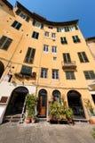 Πλατεία Anfiteatro - Lucca Τοσκάνη Ιταλία Στοκ Φωτογραφία