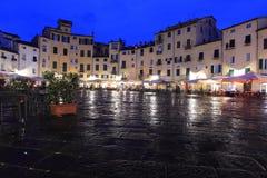 Πλατεία Anfiteatro Lucca Στοκ Φωτογραφία