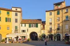 Πλατεία Anfiteatro 1 - Lucca Στοκ εικόνα με δικαίωμα ελεύθερης χρήσης