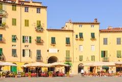 Πλατεία Anfiteatro 3 - Lucca Στοκ Φωτογραφίες