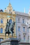 Πλατεία Jelacic απαγόρευσης Στοκ φωτογραφία με δικαίωμα ελεύθερης χρήσης