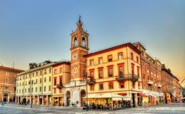 Πλατεία Martiri Tre σε Rimini Στοκ φωτογραφία με δικαίωμα ελεύθερης χρήσης