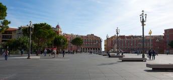 Πλατεία Massena Plaza στην πόλη της Νίκαιας, Γαλλία Στοκ φωτογραφία με δικαίωμα ελεύθερης χρήσης
