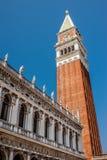 Πλατεία SAN Marco στη Βενετία, Ιταλία Στοκ εικόνα με δικαίωμα ελεύθερης χρήσης