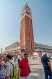 Πλατεία SAN Marco στοκ φωτογραφία με δικαίωμα ελεύθερης χρήσης