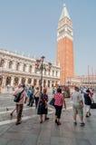 Πλατεία SAN Marco στοκ εικόνες με δικαίωμα ελεύθερης χρήσης