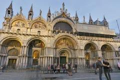 Πλατεία SAN Marko στη Βενετία, Ιταλία Καθεδρικός ναός SAN Marko Στοκ φωτογραφία με δικαίωμα ελεύθερης χρήσης