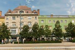 Πλατεία Ter Kossuth Στοκ φωτογραφία με δικαίωμα ελεύθερης χρήσης