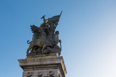 Πλατεία Venezia - καταπληκτική Ρώμη, Ιταλία Στοκ Εικόνα