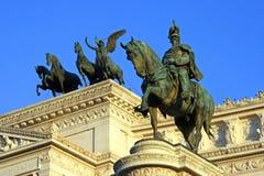 Πλατεία Venezia Ρώμη Στοκ Εικόνα