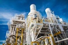Πλατφόρμα πετρελαίου και φυσικού αερίου στον κόλπο ή τη θάλασσα Στοκ Εικόνες