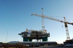 Πλατφόρμα πετρελαίου Στοκ φωτογραφίες με δικαίωμα ελεύθερης χρήσης