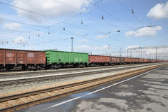 Σιδηρόδρομος. Στοκ φωτογραφία με δικαίωμα ελεύθερης χρήσης