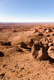 Πλαϊνό όχημα στην έρημο πετρών, Μαρόκο Στοκ Εικόνες