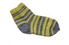 πλεκτή κάλτσα Στοκ Εικόνες