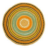 Πλεκτός χρωματισμένος τάπητας στοκ φωτογραφία με δικαίωμα ελεύθερης χρήσης