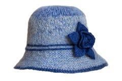 Πλεκτό καπέλο γυναικών ` s στοκ φωτογραφία