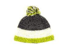 Πλεκτό καπέλο με το pompom Στοκ φωτογραφίες με δικαίωμα ελεύθερης χρήσης