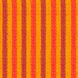 Πλεκτό το νήμα patterm ευτυχές χέρι χρώματος Στοκ Εικόνες