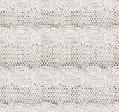 Πλεκτό ύφασμα για το πουλόβερ seamless Στοκ Φωτογραφία