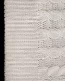 Πλεκτό ύφασμα για το πουλόβερ seamless Στοκ φωτογραφία με δικαίωμα ελεύθερης χρήσης