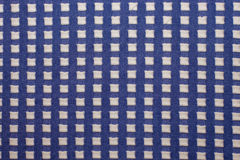 πλεκτό ύφασμα με τα τετραγωνικά σχέδια, πλεκτά κλωστοϋφαντουργικά προϊόντα μαλλιού, Στοκ φωτογραφίες με δικαίωμα ελεύθερης χρήσης