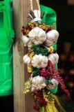 Πλεξούδα του σκόρδου Στοκ φωτογραφία με δικαίωμα ελεύθερης χρήσης