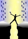 Πλεονεξία για τα χρήματα ελεύθερη απεικόνιση δικαιώματος