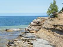 Πλευρά απότομων βράχων στοκ φωτογραφία