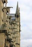 Πλευρά της κυρίας Notre στο Παρίσι Στοκ Εικόνα