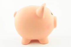 Πλευρά της piggy τράπεζας Στοκ φωτογραφία με δικαίωμα ελεύθερης χρήσης