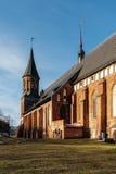 Πλευρά του καθεδρικού ναού Konigsberg σε Kaliningrad Στοκ φωτογραφία με δικαίωμα ελεύθερης χρήσης