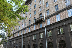 Πλευρά του παλαιού κτηρίου Στοκ φωτογραφίες με δικαίωμα ελεύθερης χρήσης