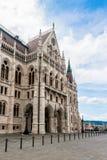 Πλευρά των Κοινοβουλίων της Βουδαπέστης Στοκ φωτογραφία με δικαίωμα ελεύθερης χρήσης
