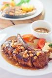 Πλευρά χοιρινού κρέατος Στοκ φωτογραφίες με δικαίωμα ελεύθερης χρήσης