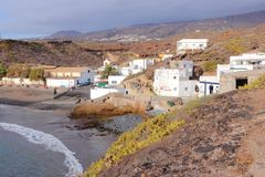 Πλευρά Adeje, Tenerife Στοκ εικόνες με δικαίωμα ελεύθερης χρήσης