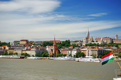 Πλευρά Buda της Βουδαπέστης Στοκ Εικόνα
