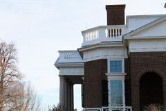 Πλευρά Monticello Στοκ Εικόνες