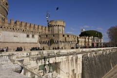Πλευρά Sant'Angelo Castle στη Ρώμη Στοκ φωτογραφία με δικαίωμα ελεύθερης χρήσης