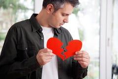 Πληγωμένος νεαρός άνδρας Στοκ Εικόνα