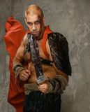 Πληγωμένος gladiator με το ξίφος Στοκ φωτογραφίες με δικαίωμα ελεύθερης χρήσης