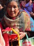 Πληθυσμοί του Νεπάλ στοκ φωτογραφίες
