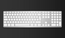 Πληκτρολόγιο γκρίζο Στοκ εικόνα με δικαίωμα ελεύθερης χρήσης