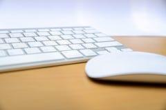 Πληκτρολόγιο και ασύρματο ποντίκι Στοκ φωτογραφίες με δικαίωμα ελεύθερης χρήσης