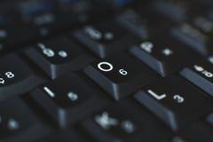 Πληκτρολόγιο PC - που χρησιμοποιείται για να εισαγάγει τα στοιχεία στον υπολογιστή Αποτελείται από το πλαστικό και είναι συνήθως  Στοκ Εικόνα