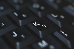 Πληκτρολόγιο PC - που χρησιμοποιείται για να εισαγάγει τα στοιχεία στον υπολογιστή Αποτελείται από το πλαστικό και είναι συνήθως  Στοκ φωτογραφία με δικαίωμα ελεύθερης χρήσης