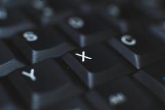 Πληκτρολόγιο PC - που χρησιμοποιείται για να εισαγάγει τα στοιχεία στον υπολογιστή Αποτελείται από το πλαστικό και είναι συνήθως  Στοκ εικόνες με δικαίωμα ελεύθερης χρήσης