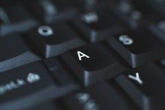 Πληκτρολόγιο PC - που χρησιμοποιείται για να εισαγάγει τα στοιχεία στον υπολογιστή Αποτελείται από το πλαστικό και είναι συνήθως  Στοκ εικόνα με δικαίωμα ελεύθερης χρήσης